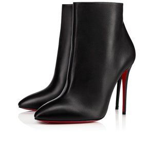 Christian Louboutin Eloise Black Leather Bootie